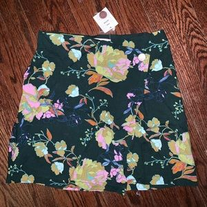 NWT wrap skirt